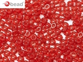O Beads® 2 x 4 mm Red (per 5 gram)
