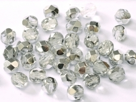 FP Facet 6mm Crystal Labrador (per 50 stuks)