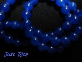 Blauwe jade 6 mm