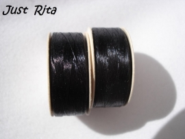 Nymo size 0 zwart / black