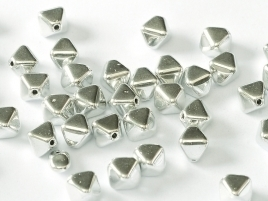 Bicone Beads 6 mm Crystal Labrador Full (per 50)