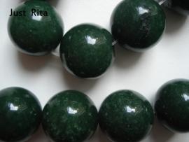 Donkergroene Jade 16 mm
