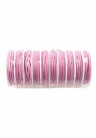 Waxkoord Roze 2mm