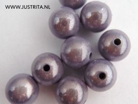 Miracle bead 12 mm lila