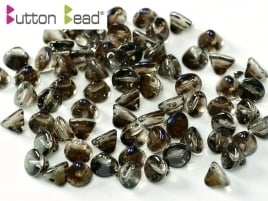 Button Bead® 4mm Crystal Azuro (per 22)