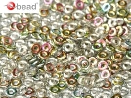 O Beads® 2 x 4 mm Crystal Vitrail (per 5 gram)