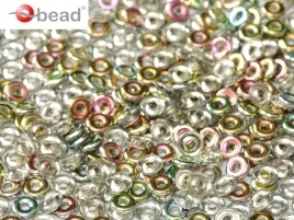 O Beads® 2 x 4 mm Crystal Vitrail (per 5 gram)