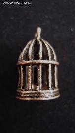Vogelkooi oud brons