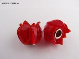 GKR05 Rode Glazen Tulp