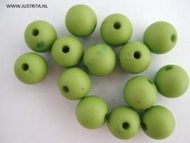 10x Acryl mat appelgroen 8mm