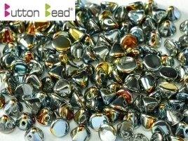 Button Bead® 4mm Crystal Marea Full (per 20)