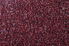M-11-DB 0280 cranberry lined luster crystal
