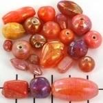 Glasmix rood