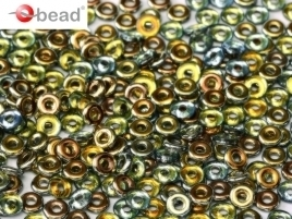 O Beads® 2 x 4 mm Crystal Marea (per 5 gram)