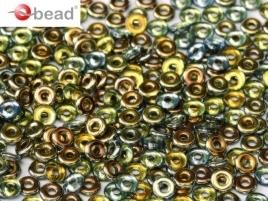 O Beads® 2 x 4 mm Crystal Marea (per 5 gram)