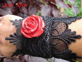 """Armband """"Gothic Rose"""""""