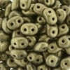 superduo 2.5x5mm Metallic Suede Gold (per 10 gram)
