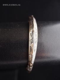 TA03 Toeareg zilver armband / Tuareg silver bracelet