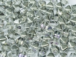 Bicone Beads 6 mm Crystal Vitrail Light (per 50)