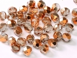 FP Facet 6mm Crystal Sunset (per 50 stuks)