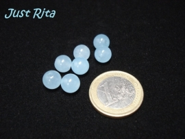 Amazonite rond 8 mm.