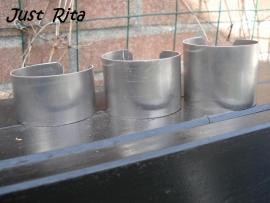 Aluminium Cuff 4,5 cm.