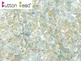 Button Bead® 4mm Crystal Full AB (per 20)