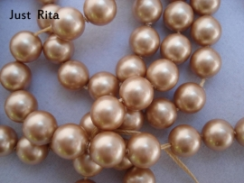 "5810 Swarovski Crystal Pearl ""Vintage Gold""  6mm"