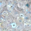 Superduo 2.5x5mm Crystal AB (per 10 gram)