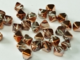 Bicone Beads 6 mm Crystal Sunset (per 50)