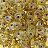Superduo 2.5x5mm Crystal Picasso (per 10 gram)