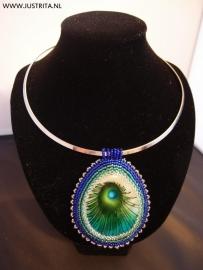 """Collier """"Peacock"""""""