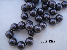 "5810 Swarovski Crystal Pearl ""Dark Purple""  6mm"