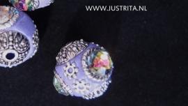 Kashmiri kraal paars 16mm