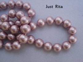 "5810 Swarovski Crystal Pearl ""Powder Rose""  6mm"