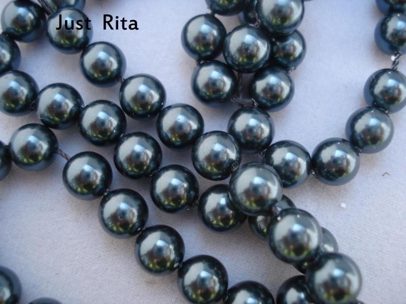 "5810  Swarovski Crystal Pearl ""Tahitian look""  6mm"