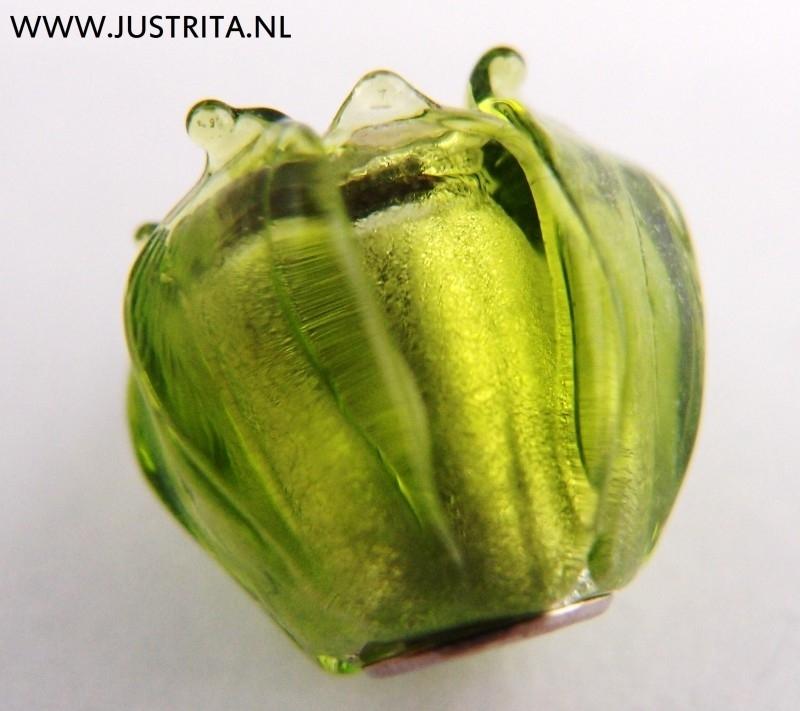 GKG08 Limegroene tulp