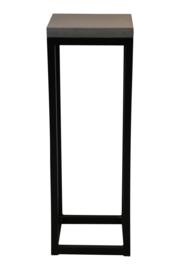 Zuil staal met fiberstone top 80cm hoog