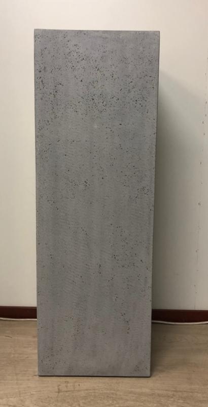 Zuil betonlook grijs 100 cm, voor binnen en buiten