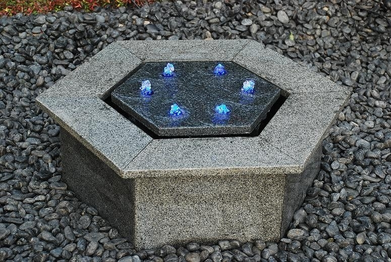 Fontein Hexagon