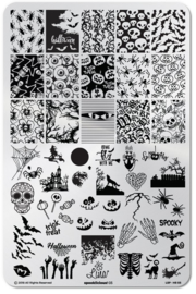 Lina - Stamping Plate - Spooklicious - 03