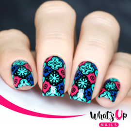 Whats Up Nails - Stamping Plate - B001 Middle Eastern Vibes