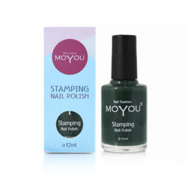 Moyou Nail Fashion - Stamping Polish - 02. Forest Green