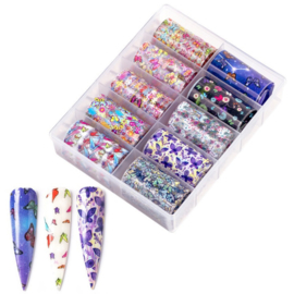 Nailways - Transfer Nail Foil - Collection 11