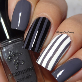 Clear Jelly Stamper Polish - #42 Slate Gray
