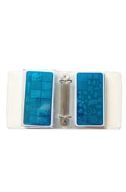 UberChic - Mini Holographic Nail Storage Binder