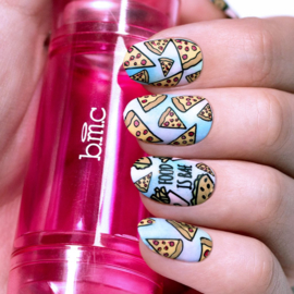 Bundle Monster - Nail Art Stamping Set 101 - Teenage Dream