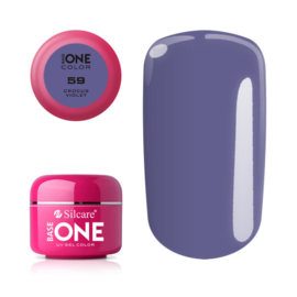 Base One - UV COLOR GEL - 59. Crocus Violet