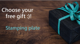 Choose your free gift :)!  Stamping plate