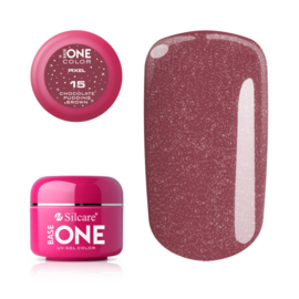 Base One - UV COLOR GEL - Pixel - 15. Chocolate Pudding Brown